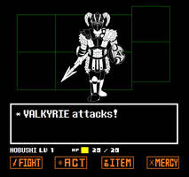 VALKYRIE attacks! by ThisJPguy