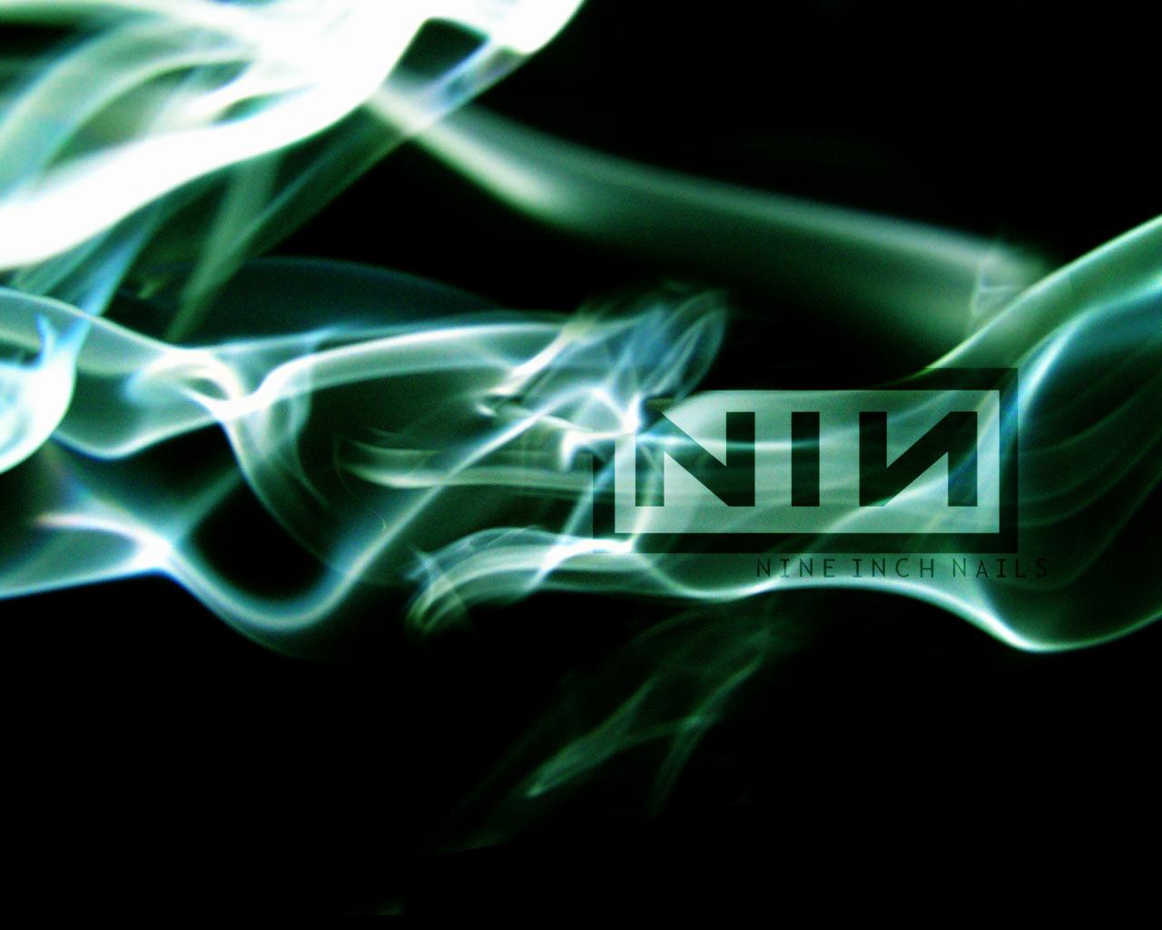 NIN Smoke Logo By InsectGod