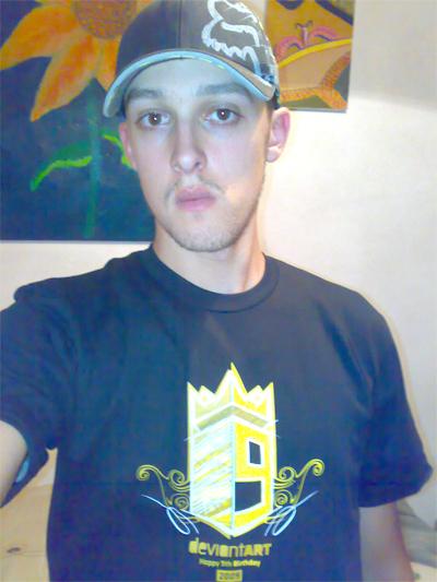 DA t-shirt by Dredmix
