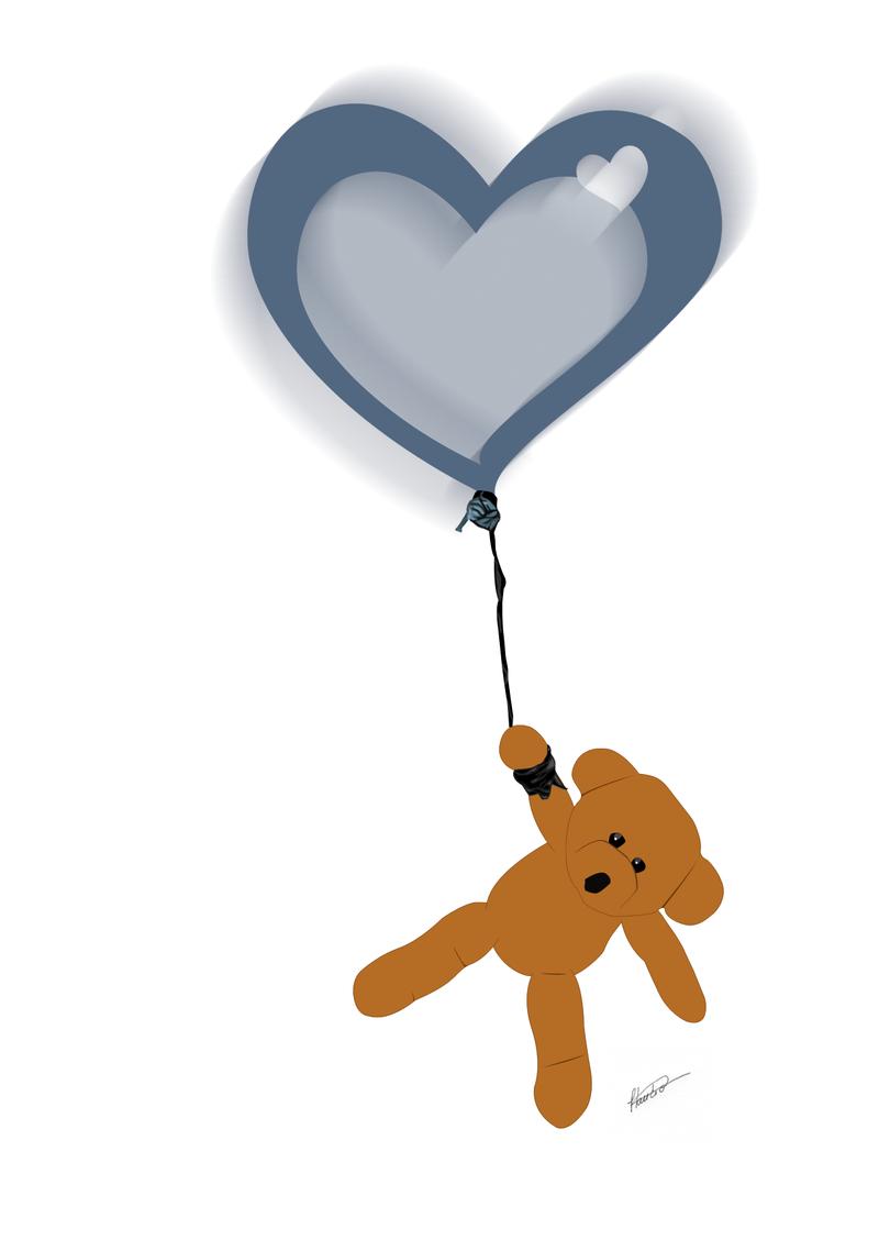 Balloon bear by Dredmix