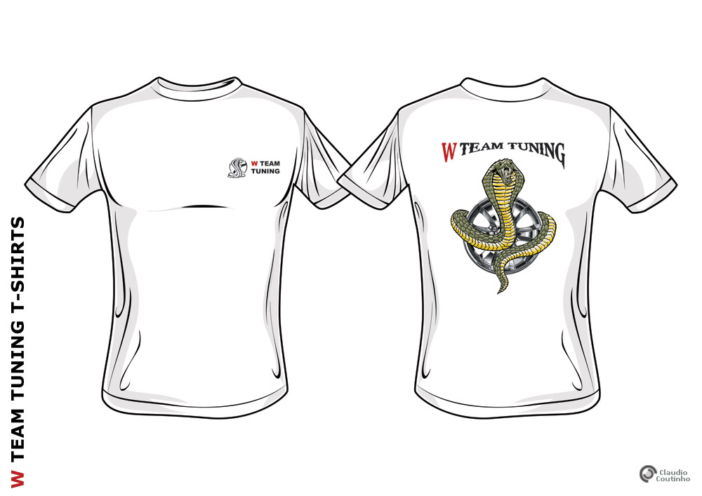 W Team Tuning T-shirt by Dredmix