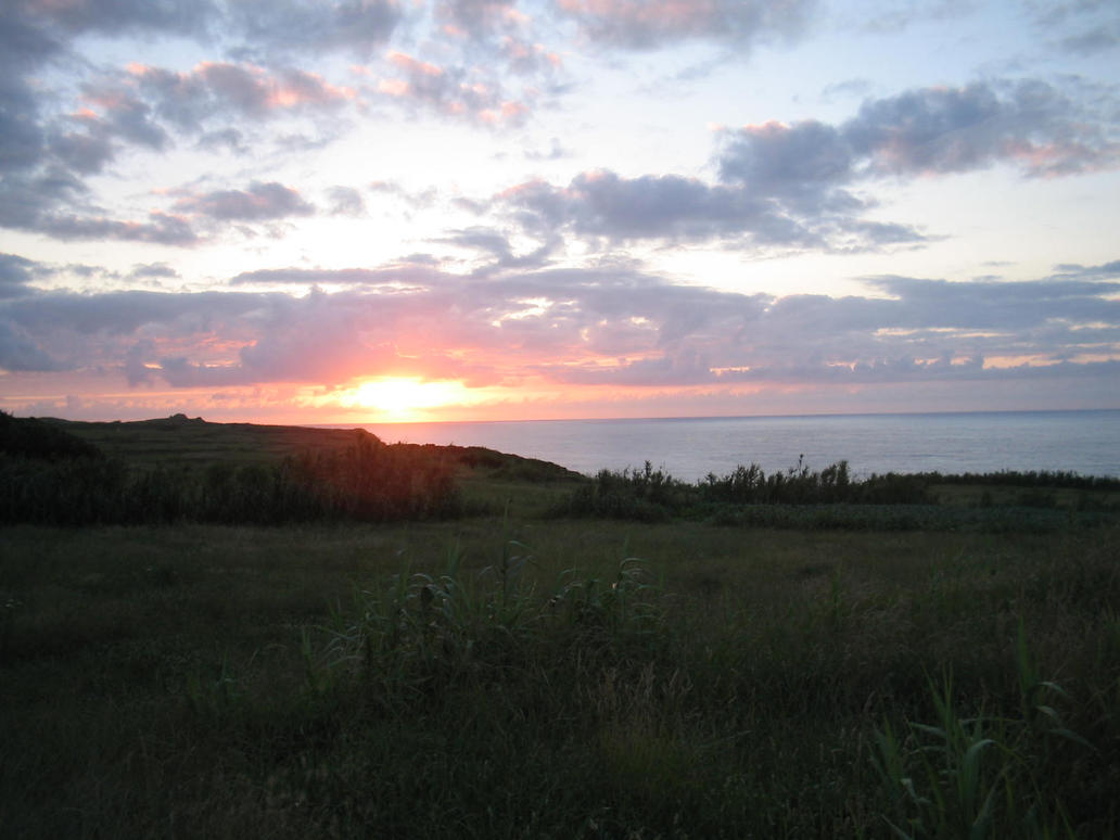 The Sun Set by Dredmix