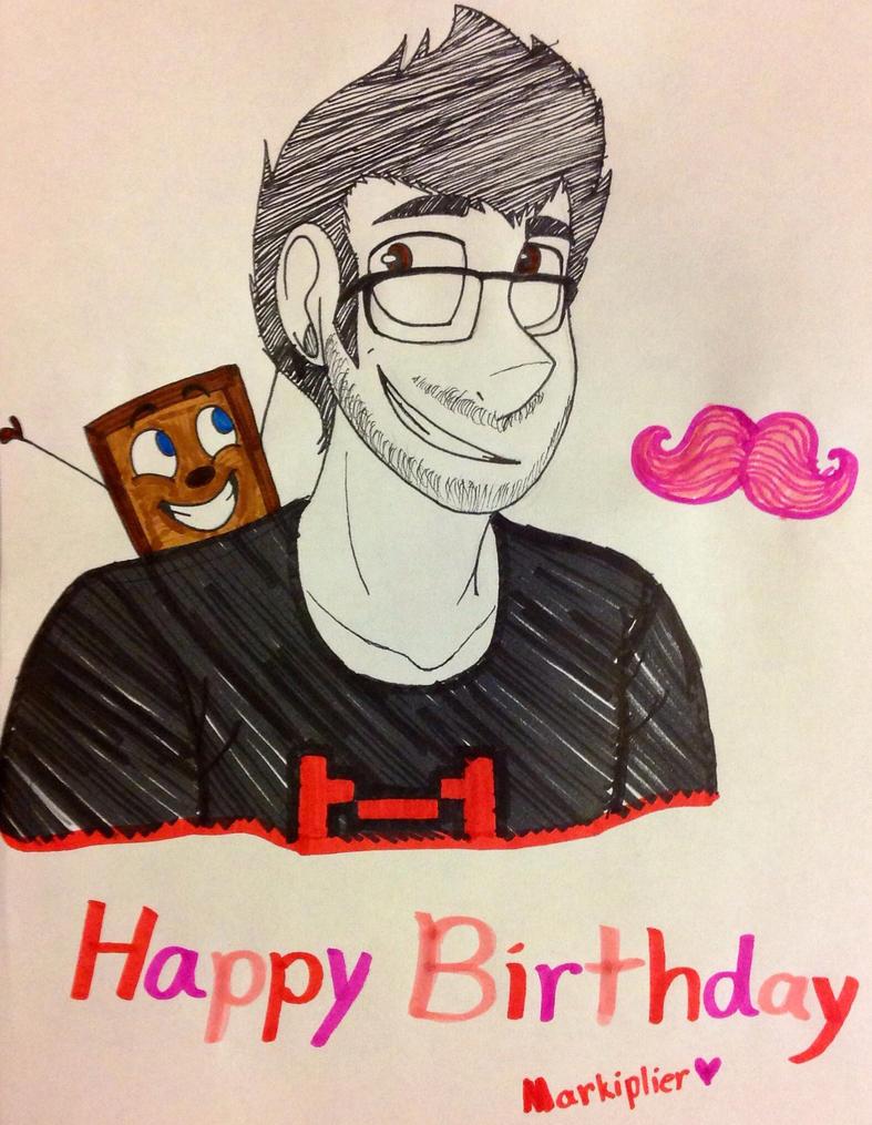 Happy Birthday Markiplier~! by Retro-Head
