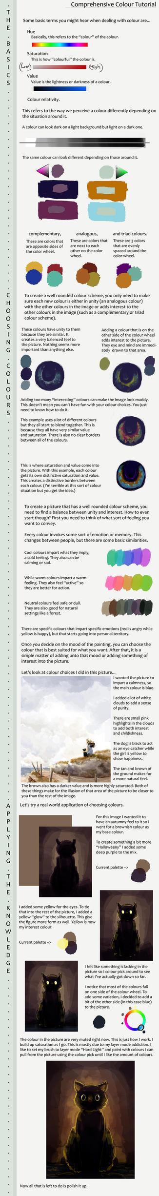 Choosing Colours Tutorial by Mintsteak