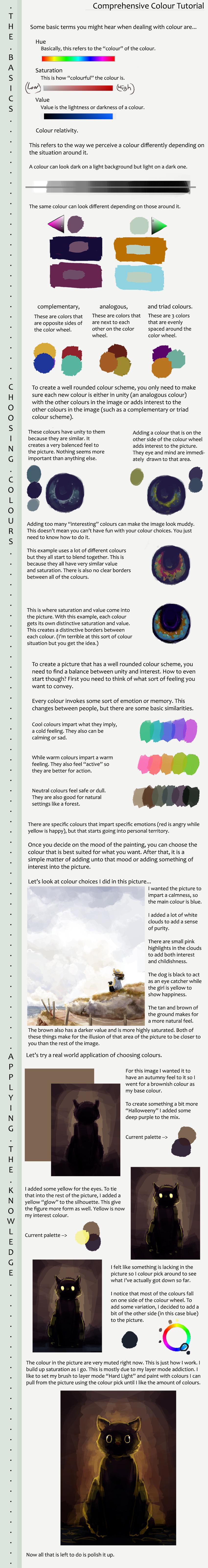Choosing Colours Tutorial