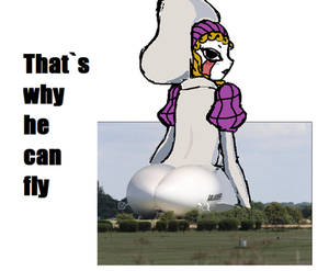 Giant Zofis with airship butt
