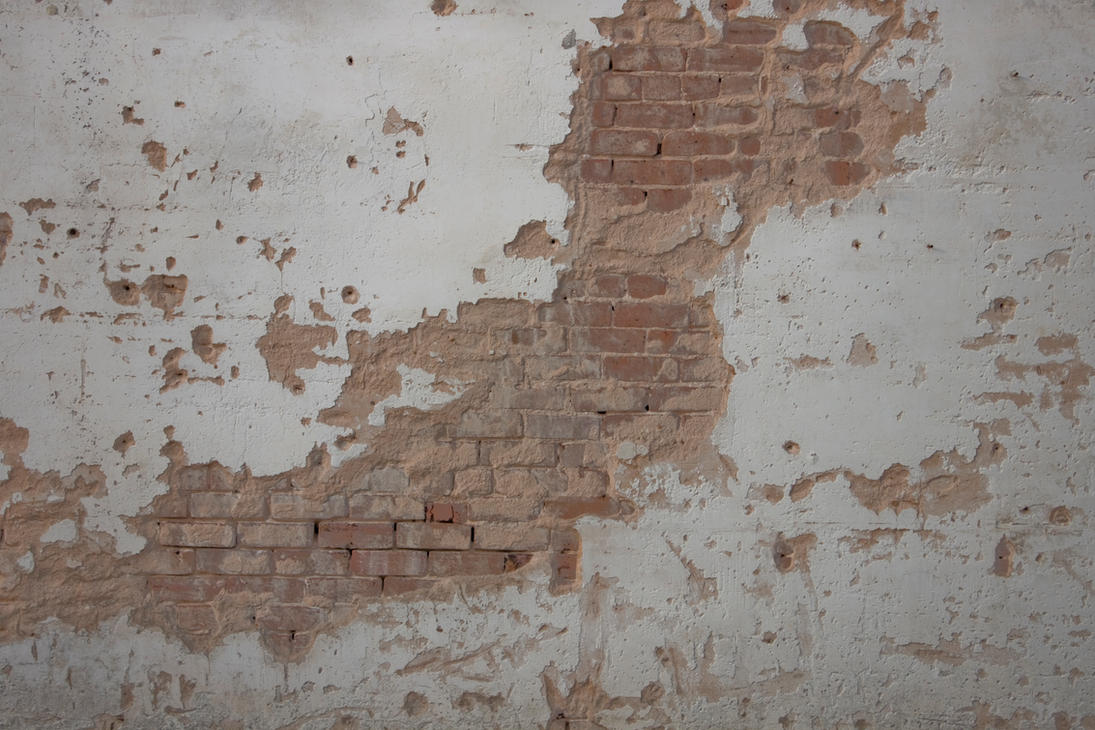 Plaster Wall Construction : Brick and plaster texture by element on deviantart