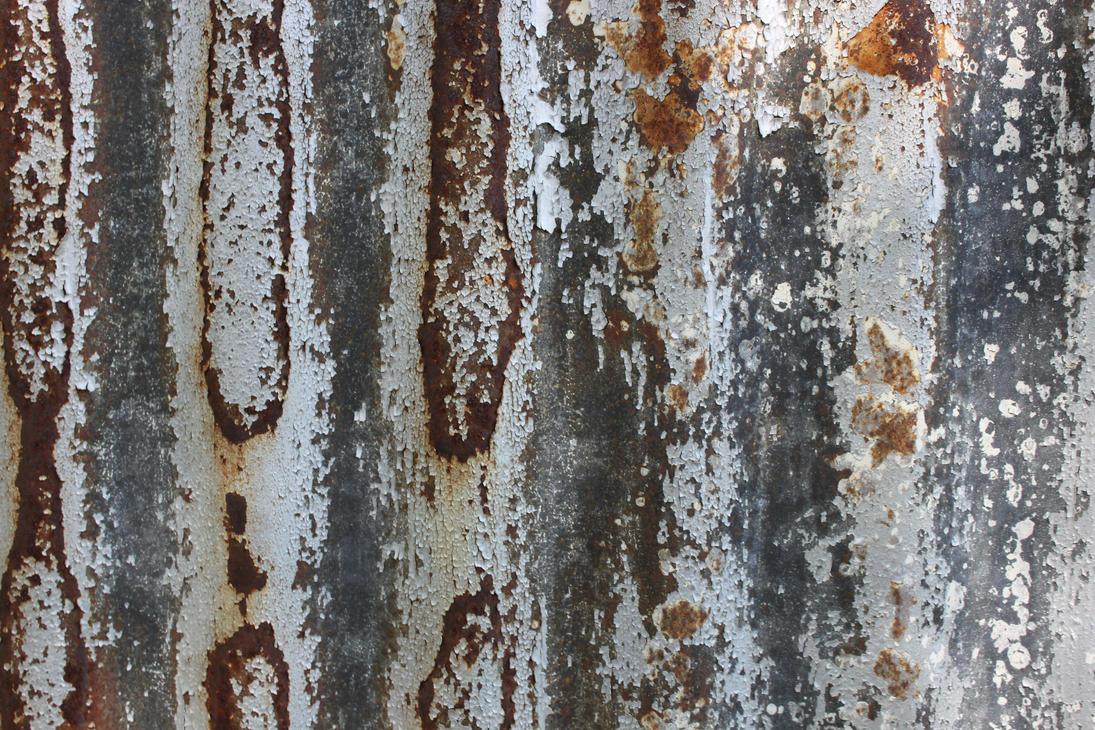 Rusting Painted Metal