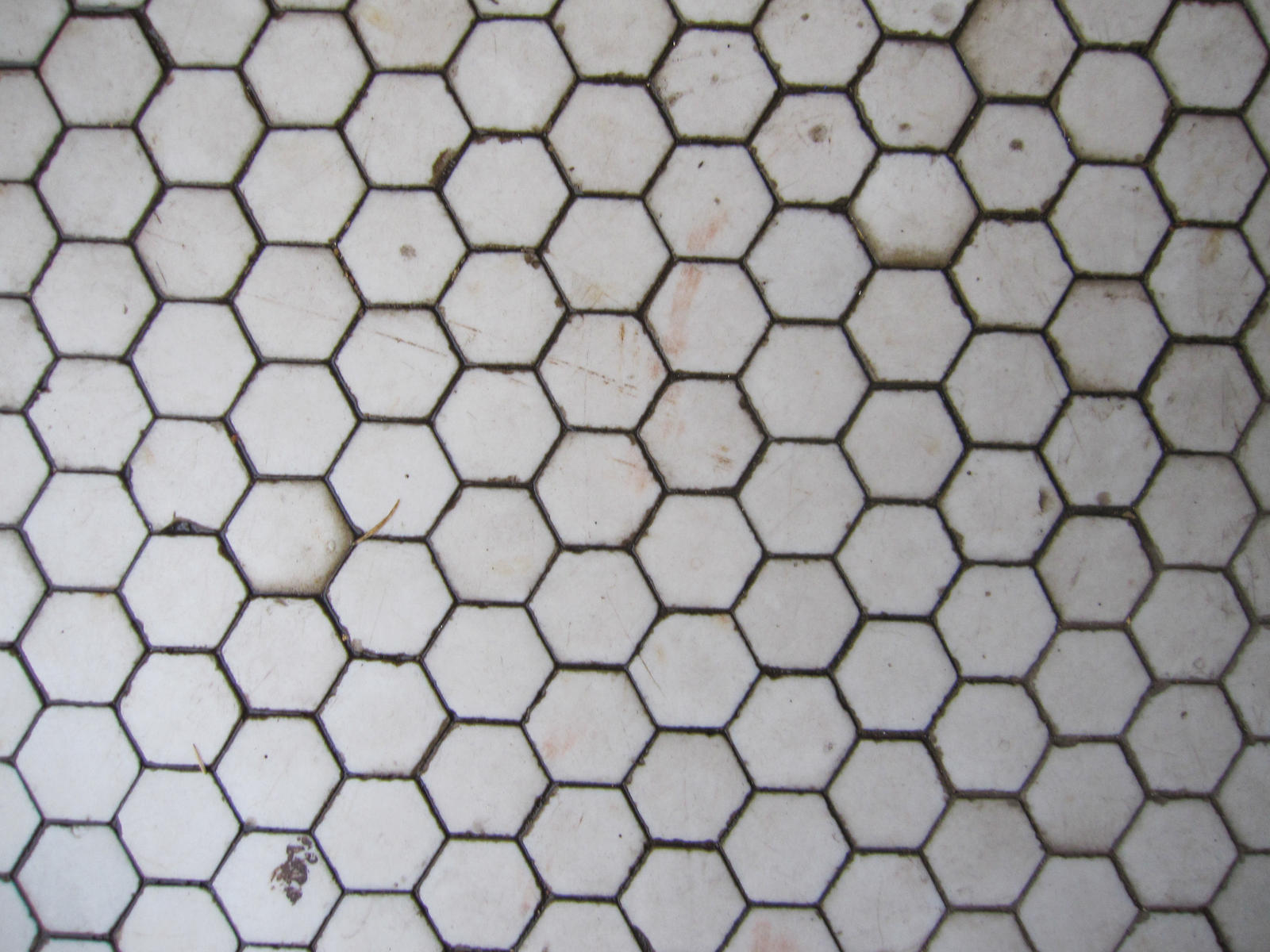 Grungy Old Tile Floor by element321