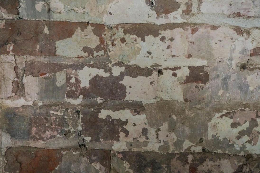 Peeling Plaster Brick Wall Texture