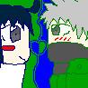 KakaSasu- Pixel Love by Ninetails404Kyuuby