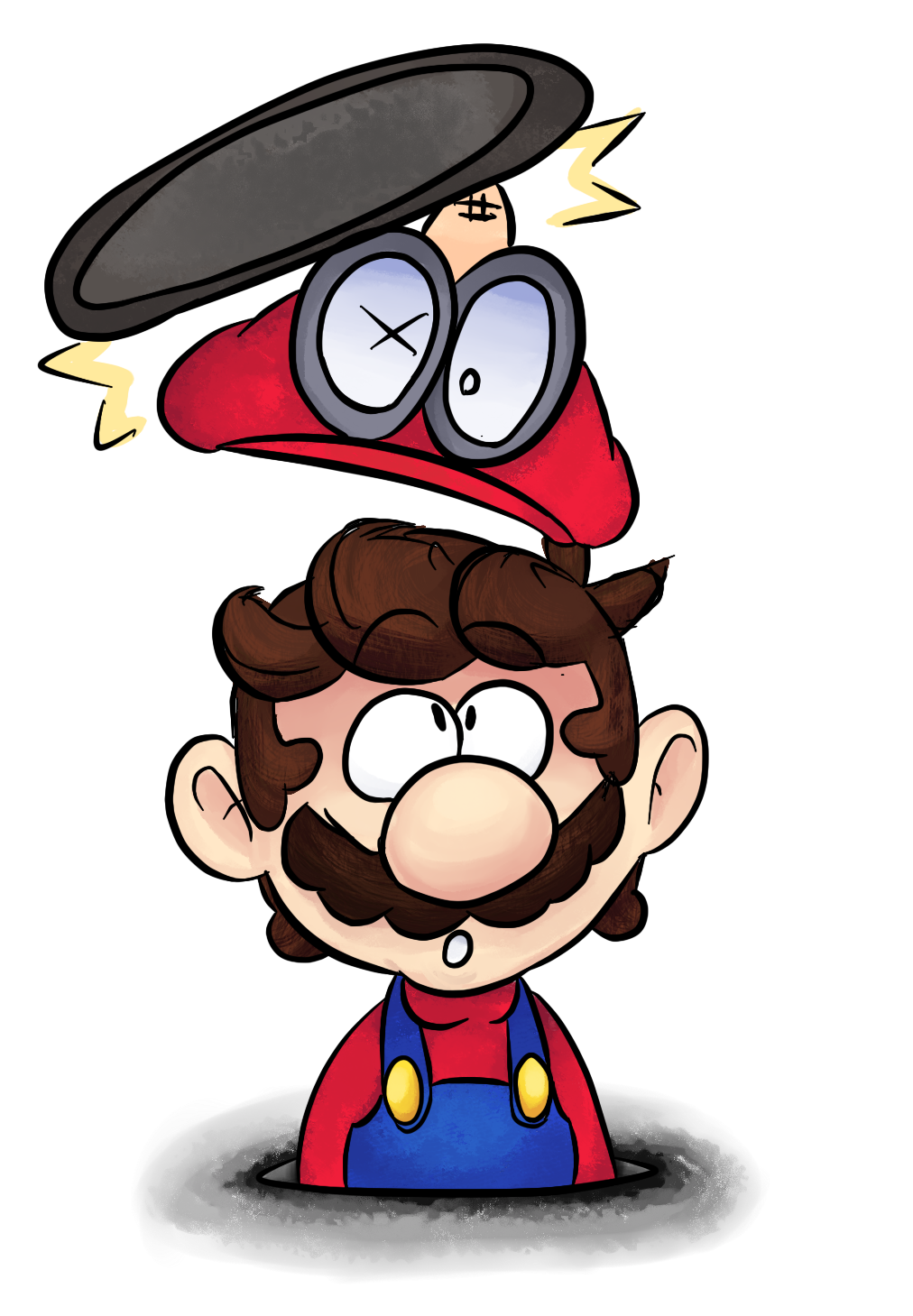 Super mario odyssey by toonrinkuhd on deviantart for Super mario odyssey paintings