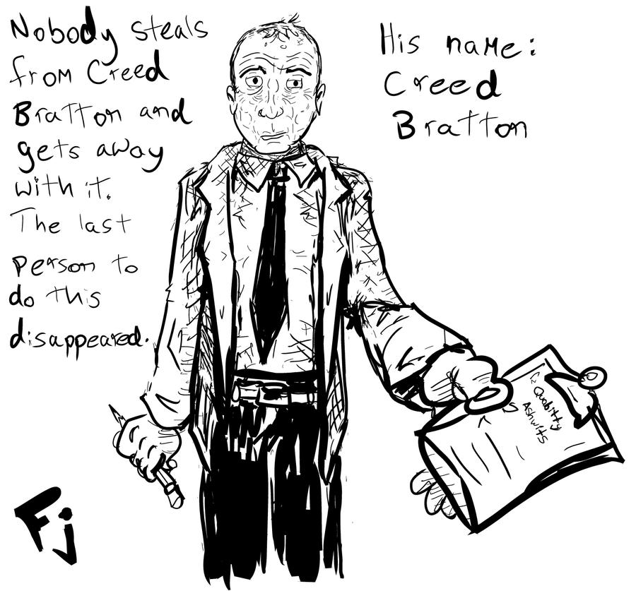 The Office - Creed Bratton by FunkyJupiter