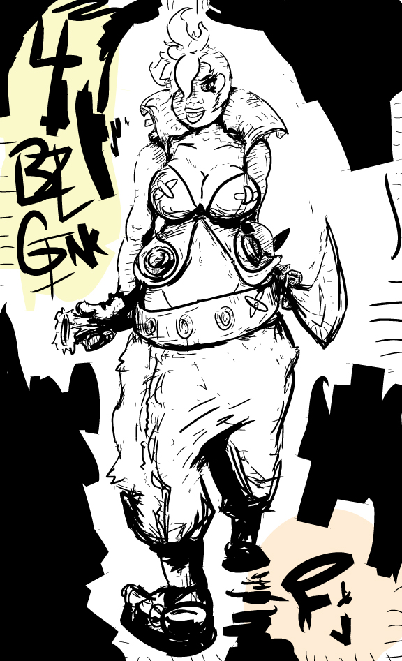 ArtTrade w+ BZLGINK - BrookeB by FunkyJupiter