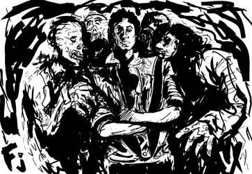 MUTHA FUCKIN MONSTA - Thriller by FunkyJupiter