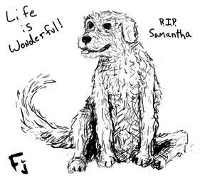 Samantha - R.I.P. friend by FunkyJupiter