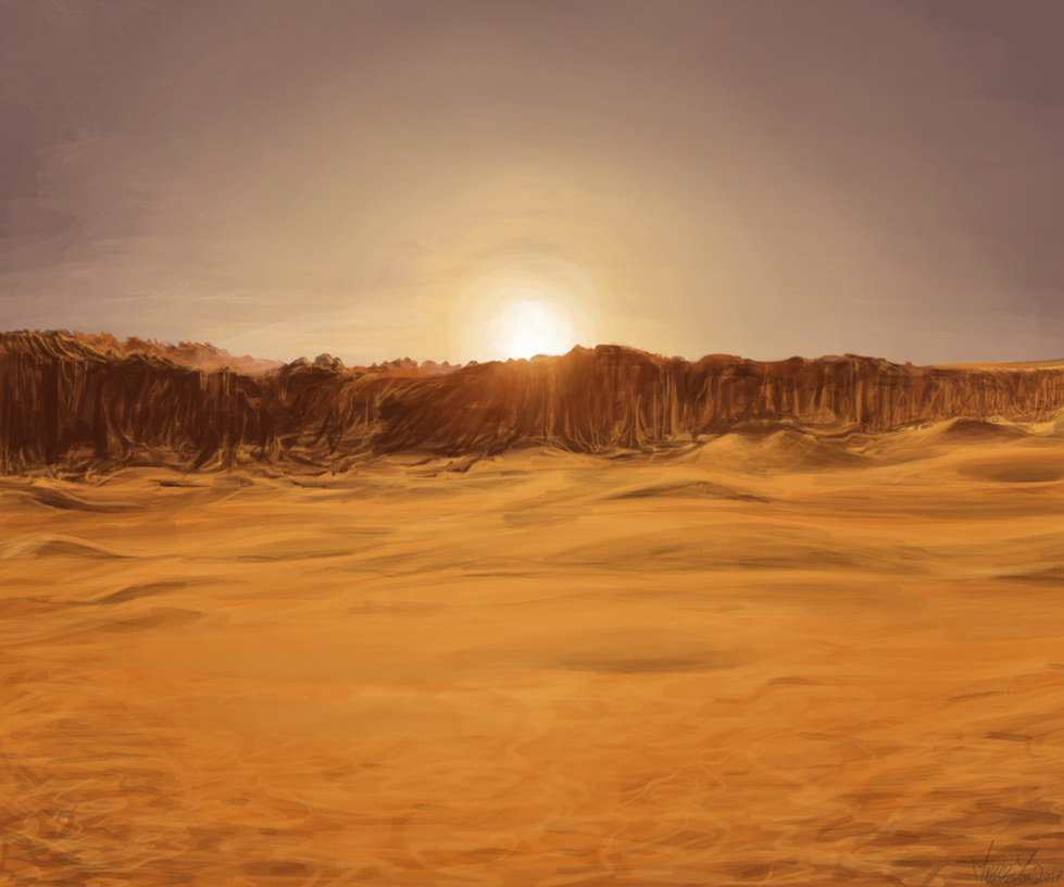 Sunlight by SketchingWorlds