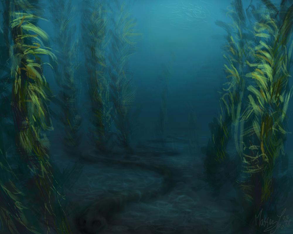 Deep sea by SketchingWorlds