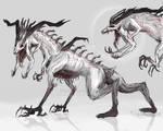 Creature Concept - Colored version