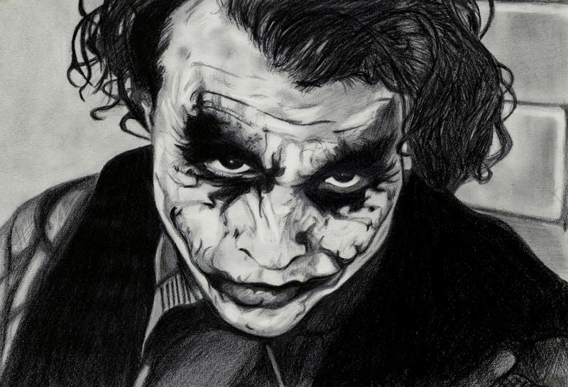 The joker by emilyhitchcock