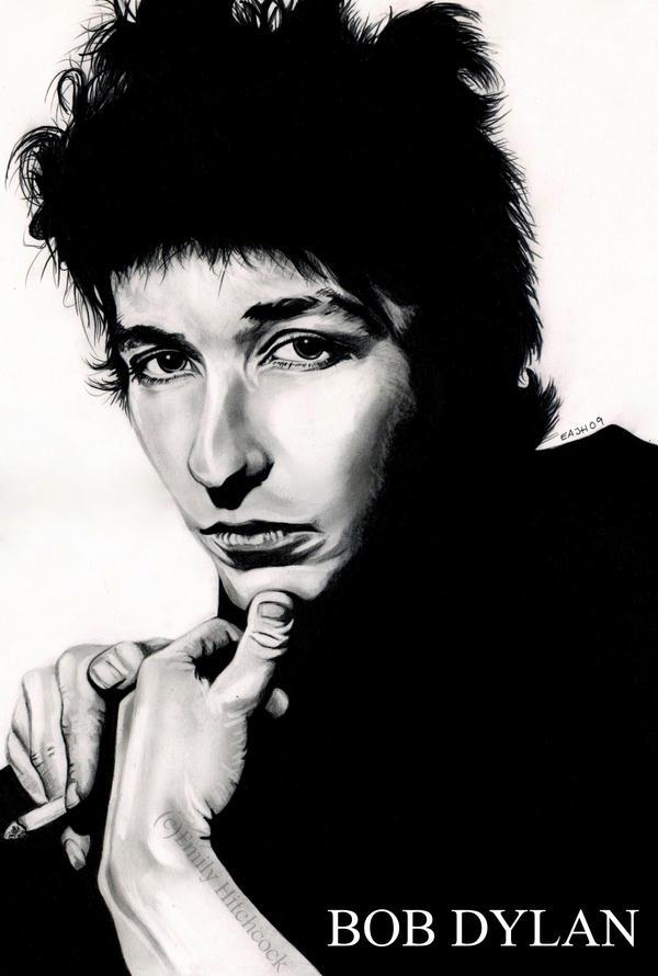 Bob Dylan by EmilyHitchcock
