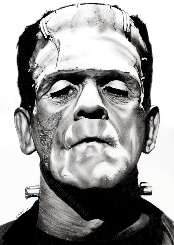 Frankenstein's Monster by EmilyHitchcock on DeviantArt