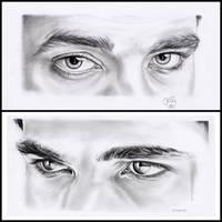 Eye Study by EmilyHitchcock