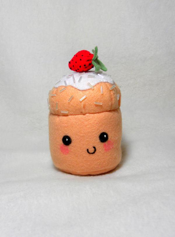 Strawberry Cupcake by EmilyHitchcock