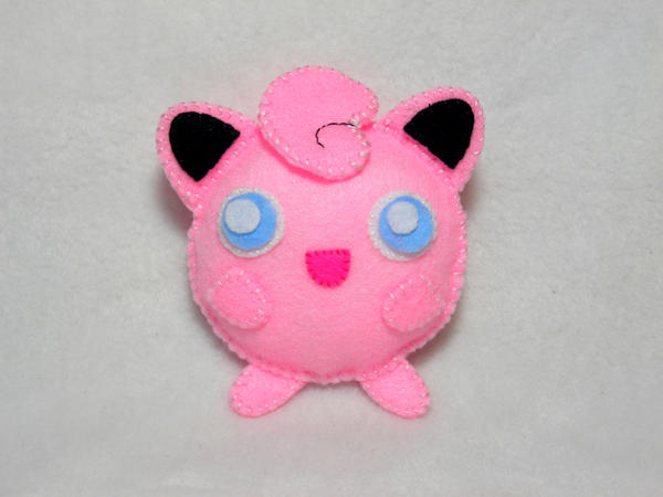Jigglypuff Plush by EmilyHitchcock