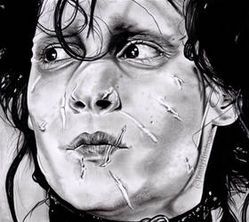 Edward Scissorhands by EmilyHitchcock