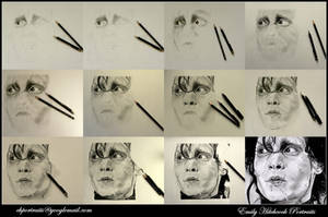 WIP Edward Scissorhands Collage by EmilyHitchcock