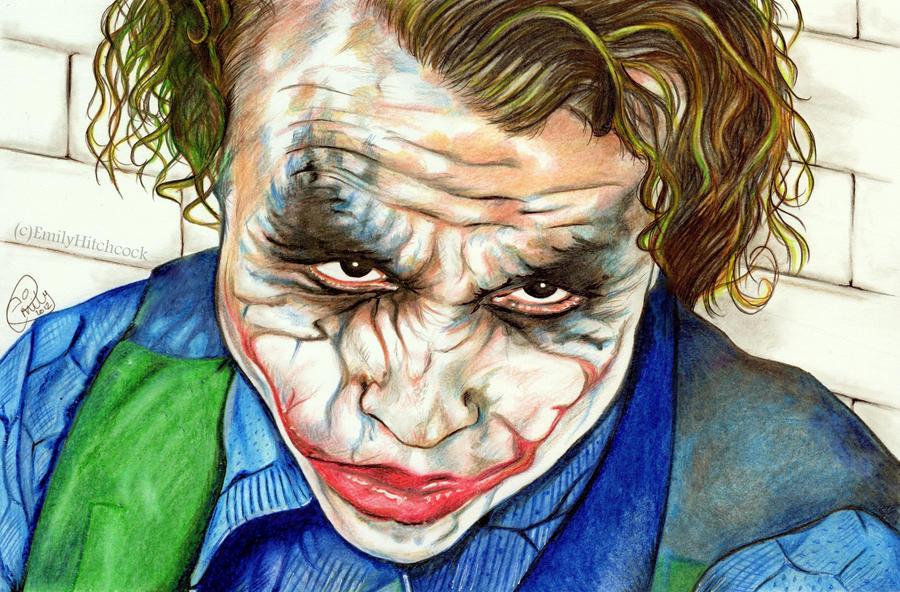 The Joker by EmilyHitchcock on DeviantArt