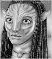Neytiri Avatar BW