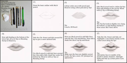 Lips Tutorial by EmilyHitchcock