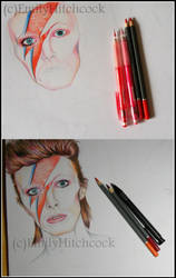 Bowie Collage WIP by EmilyHitchcock