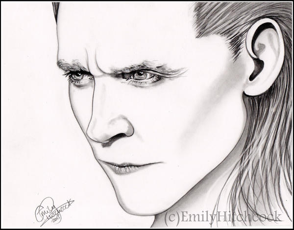 Loki Minimal by EmilyHitchcock