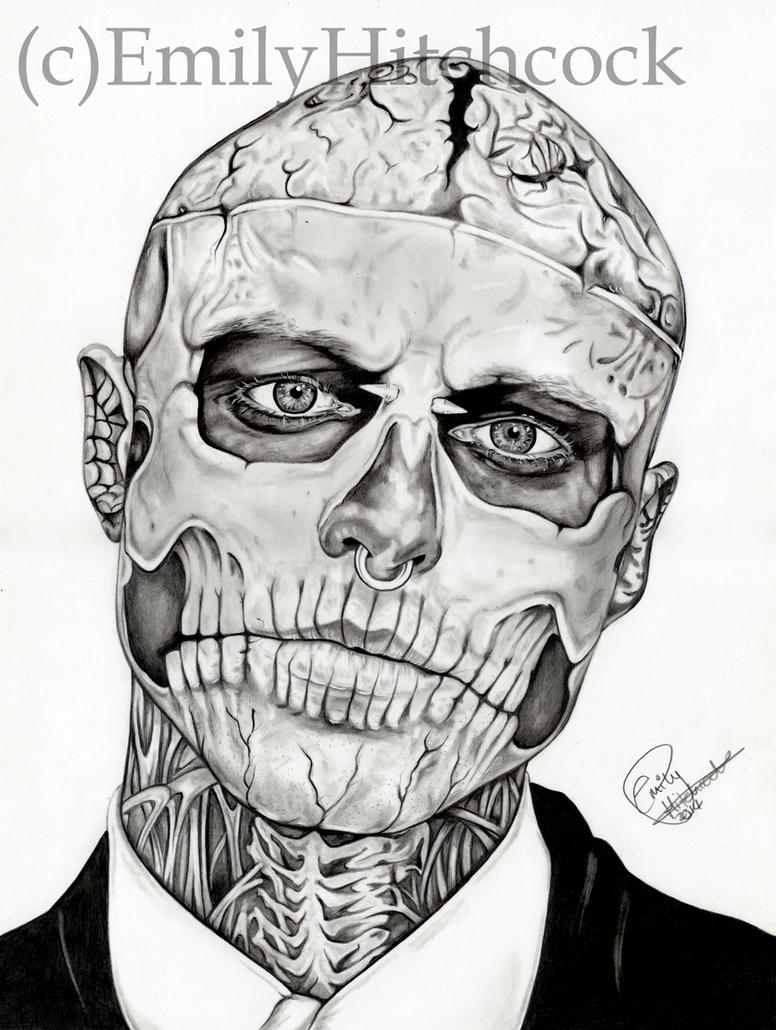 Rick Genest by EmilyHitchcock