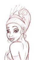 Tiana sketch