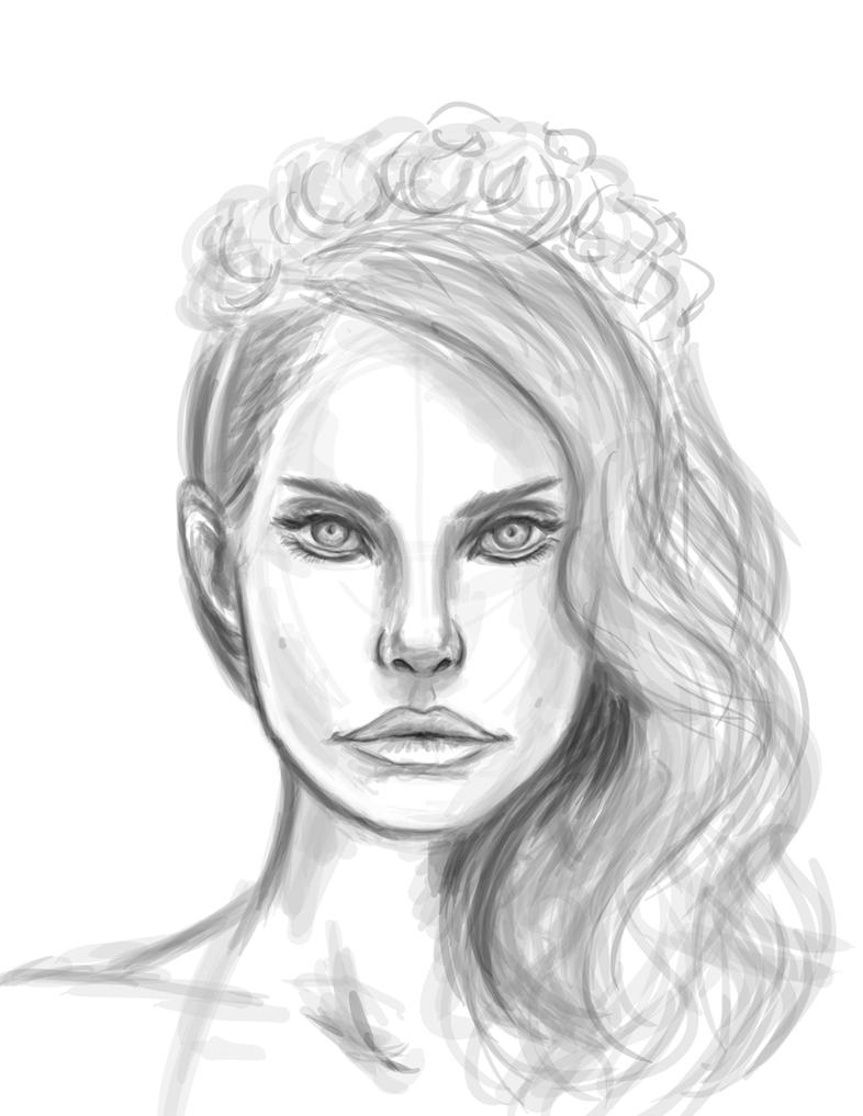 Lana Del Rey by pandatails on DeviantArt