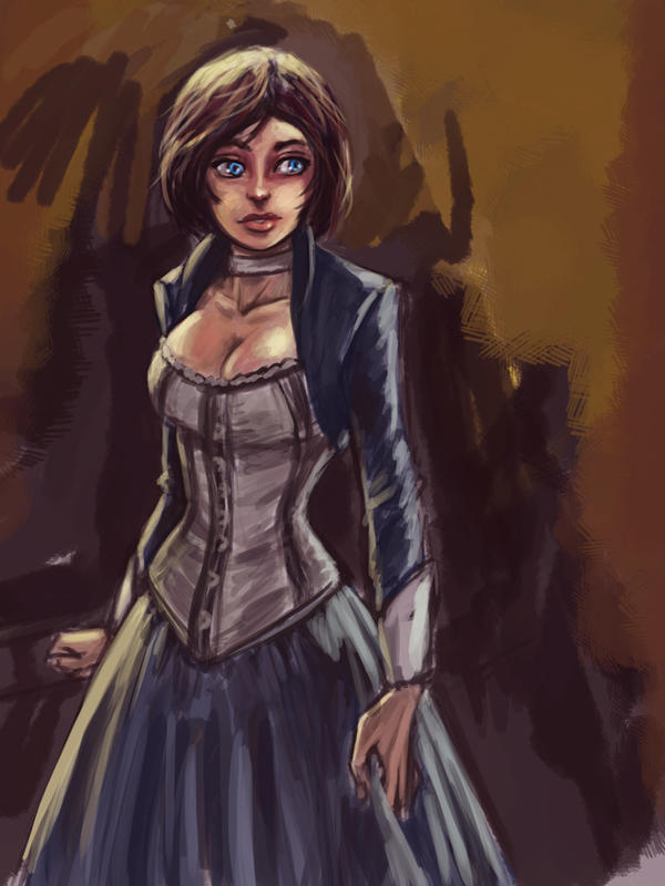 Bioshock Infinite_Elizabeth by pandatails