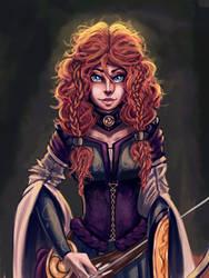 I am Merida, Queen of Clan Dunbroch