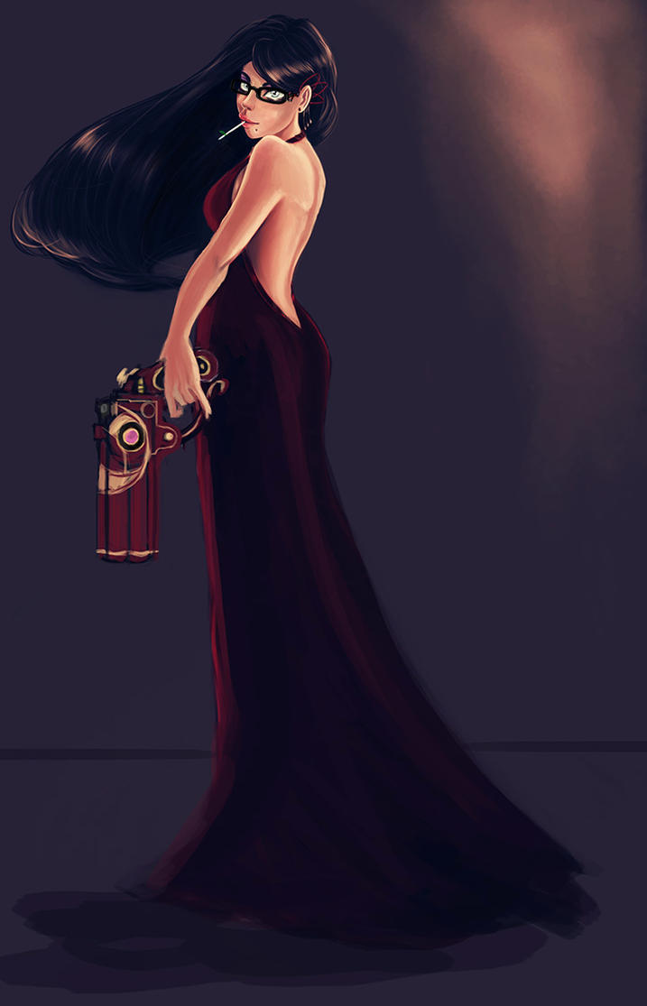Young Bayonetta by pandatails