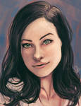 Olivia Wilde by pandatails