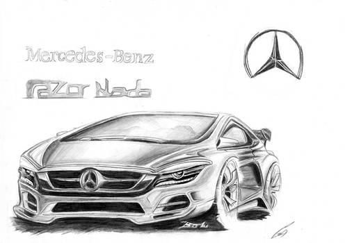 Mercedes-Benz Razor blade