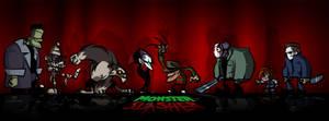 Monstruos Vs Slasher
