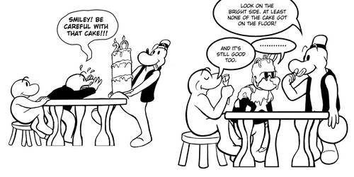 Bone - 20th Birthday Cartoon