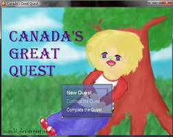 [Game] Canada's Great Quest by suzubi