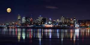 Night in Montreal by YuppiDu