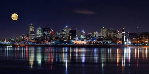 Night in Montreal by YuppiDu
