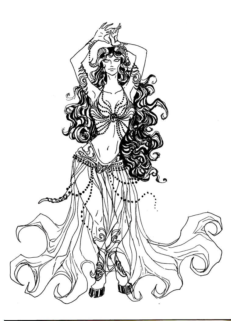 Dancing Draenei by Ior...